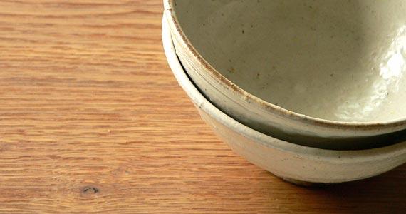 手作りのお茶碗