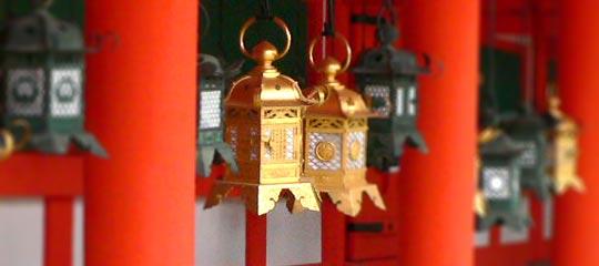 奈良公園 春日大社 回廊